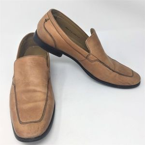 Cole Haan Tan Leather Loafer Slip On Shoes 12M